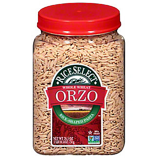 Rice Select 100% Whole Wheat Orzo,26.5OZ