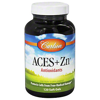 Carlson Aces + Zn, 120 ct
