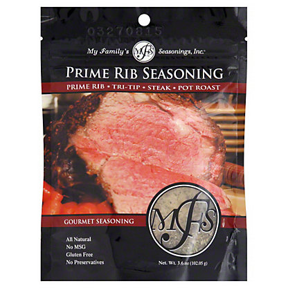 My Family's Seasonings My Family's_Prime Rib Seasoning,3.60 oz