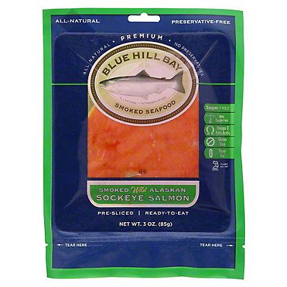 Blue Hill Bay Smoked Wild Alaskan Sockeye Salmon, 3 OZ