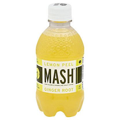 MASH Lemon Peel Ginger Root Sparkling Beverage, 20 oz
