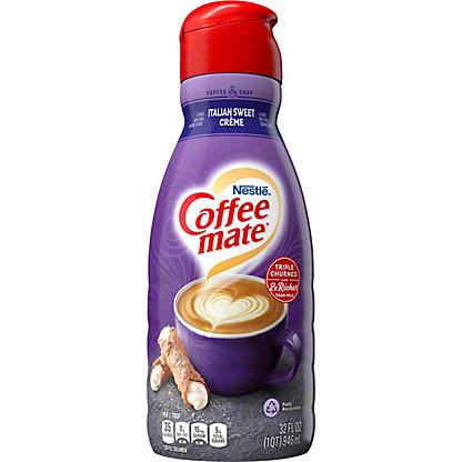 Nestle Coffee-Mate World Cafe Collection Italian Sweet Creme Coffee Creamer,32.00 oz