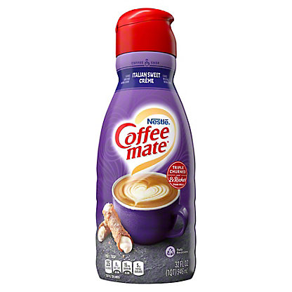 Nestle Coffee-Mate World Cafe Collection Italian Sweet Creme Coffee Creamer,32.00 oz