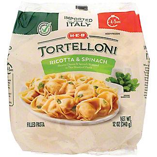 H-E-B Ricotta & Spinach Tortelloni, 12 oz