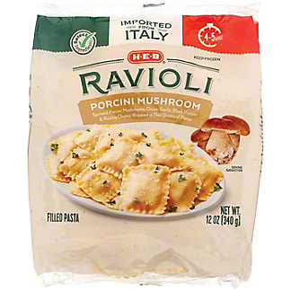 H-E-B Select Ingredients Porcini Mushroom Ravioli, 12 oz