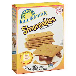 Kinnikinnick Foods S'moreables Graham Style Crackers,8 oz