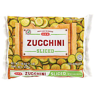 H-E-B Sliced Zucchini, 16 oz