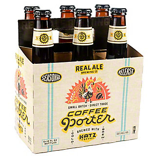 Real Ale Seasonal 6 PK,12 OZ