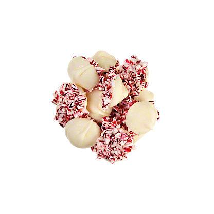 Asher White Chocolate Peppermint Non Pareils, lb