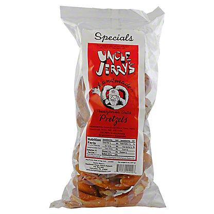 Uncle Jerry's Specials Pretzels, Regular Salt,8.0 OZ
