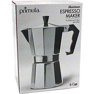 Primula Aluminum Espresso Maker, 6 cup
