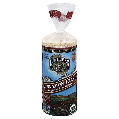Lundberg Organic Cinnamon Toast Rice Cakes, 9.5 oz