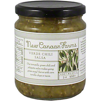 New Canaan Farms Chili Verde Salsa, 16.04 OZ
