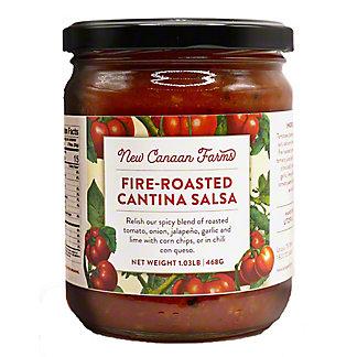 New Canaan Farms Fire Roasted Cantina Salsa,16.04Z