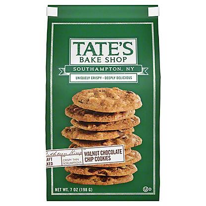 Tate's Bake Shop Chocolate Chip Walnut Cookies, 7 oz