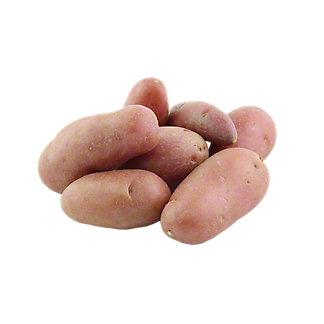 Fresh Organic Ruby Crescent Fingerling Potato , lb
