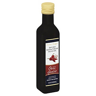 Central Market Chili Garlic Infused Extra Virgin Olive Oil, 8.5 oz
