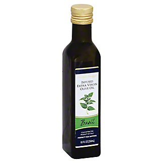 Central Market Basil Infused Extra Virgin Olive Oil,8.5 OZ