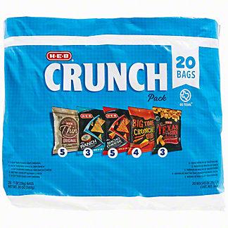 H-E-B Crunch Pack, 20 ct