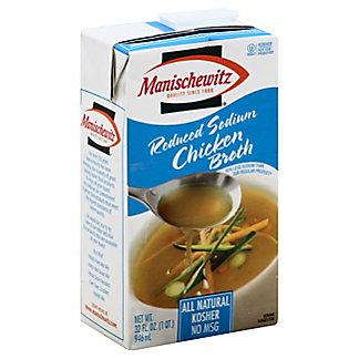 Manischewitz Reduced Sodium Chicken Broth,32.00 oz