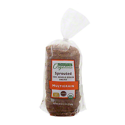 Central Market Organics Sprouted Multigrain Bread,24.00 oz