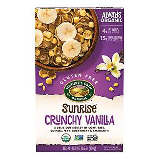 Nature's Path Organic Crunchy Vanilla Sunrise Cereal, 10.6 oz