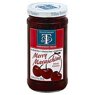 Tillen Farms Merry Maraschino Cherries, 13.5 oz