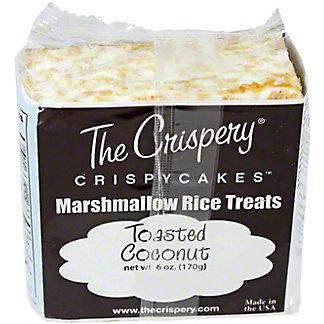 The Crispery Crispycakes, Toasted Coconut,6.00 oz