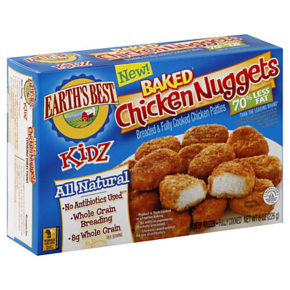 Earth's Best Kidz Baked Chicken Nuggets, 8 OZ
