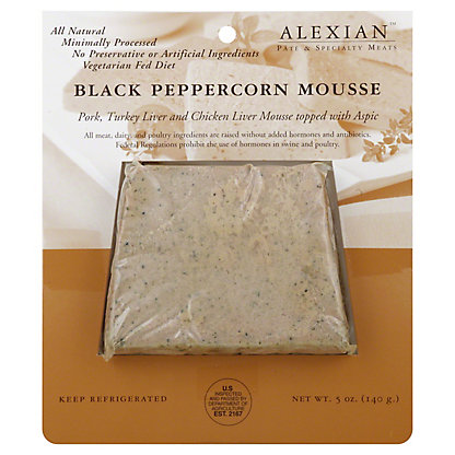 Alexian Black Peppercorn Mousse,5OZ