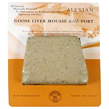 Alexian Goose Liver Mousse with Port, 5 oz