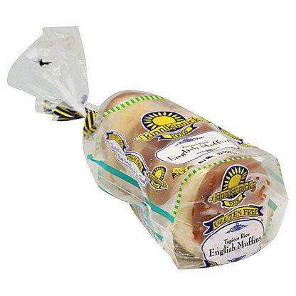 Kinnikinnick Foods Gluten Free Tapioca Rice English Muffins,13.5OZ