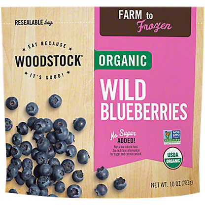 Woodstock Organic Blueberries,10OZ