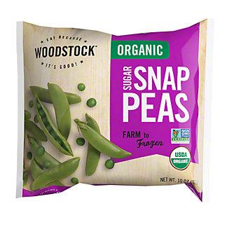 Woodstock Organic Sugar Snap Peas,10 OZ