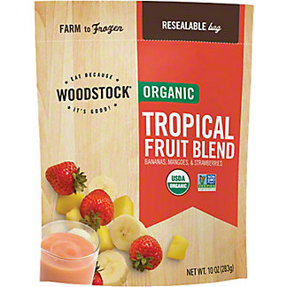 Woodstock Organic Tropical Fruit Blend,10.00 oz