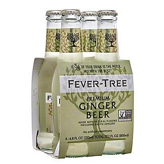 Fever Tree Premium Ginger Beer 6.8 oz Bottles, 4 pk