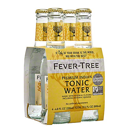 Fever Tree Premium Indian Tonic Water,4 PK
