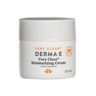 Derma E Very Clear Moisturizer with Anti-Blemish Complex, 2 oz