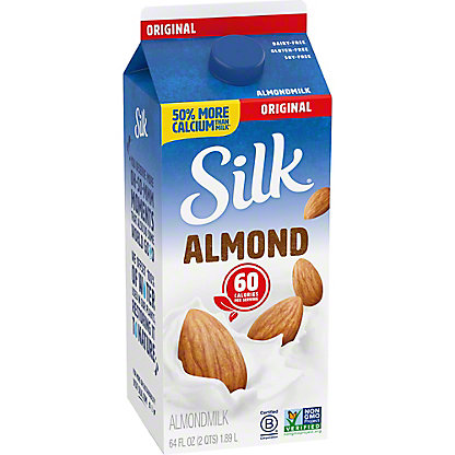 Silk Original Almondmilk, 1/2 gal