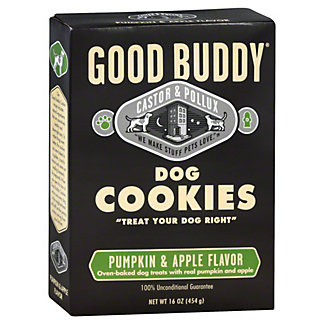 Castor & Pollux Pet Works Good Buddy Pumpkin/Apple Cookies, 16 OZ