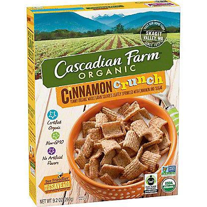 Cascadian Farm Organic Cinnamon Crunch Cereal, 9.2 oz
