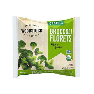 Woodstock Organic Broccoli Florets,10OZ