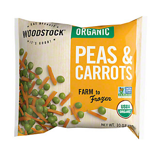 Woodstock Organic Peas and Carrots,10OZ