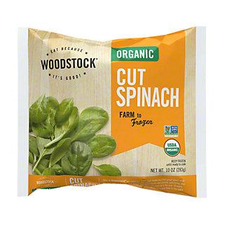 Woodstock Organic Cut Spinach,10OZ