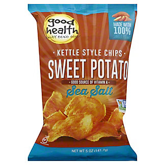 Good Health Natural Foods Glories Kettle Sweet Potato Chips, 5 oz