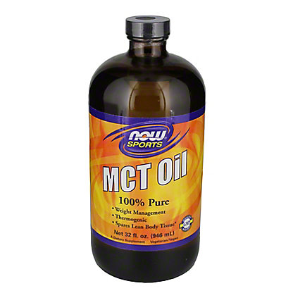 NOW Sports MCT Oil 100% Pure,32 OZ
