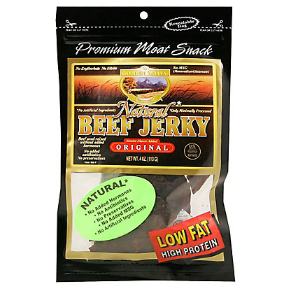 Golden Valley Golden Valley Natural Beef Original Jerky, 4.00 oz