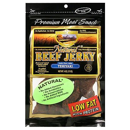 Golden Valley Golden Valley Natural Teriyaki Beef Jerky, 4.00 oz