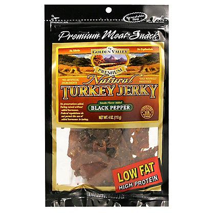 Golden Valley Golden Valley_Natural Black Pepper Turkey Jerky, 4.00 oz