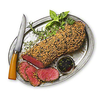 Herb-Encrusted Beef Tenderloin, Serves 6-8